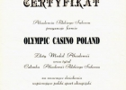 Gold Medal of Success for Olympic Casino Poland